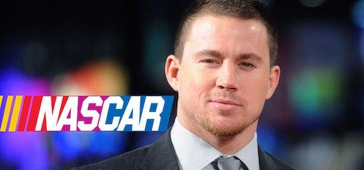 Channing Tatum en una película de NASCAR