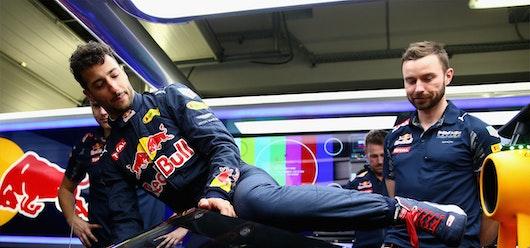 Red Bull instala parabrisas en su monoplaza
