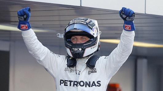 Triunfo del finlandés Valtteri Bottas en el Gran Premio de Austria
