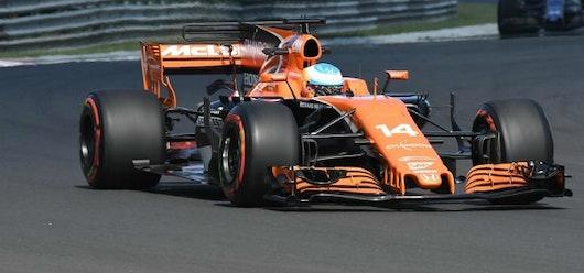 """Alonso hizo algunos movimientos """"kamikazes"""" en su mejor resultado del año"""