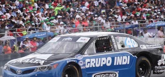 Victoria de Michel Jourdain Jr. en NASCAR México