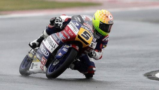 Triunfo en Moto3 del italiano Romano Fenati en GP de San Marino