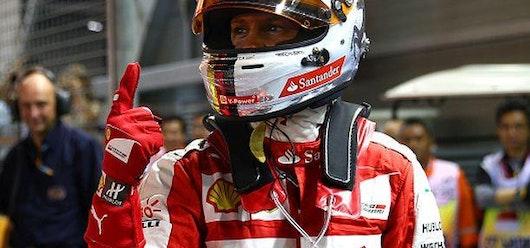 Vettel logra la 'pole position' del Gran Premio de Singapur