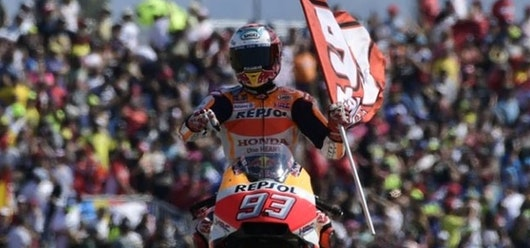 Márquez gana el GP Aragón y se escapa en el Mundial de MotoGP