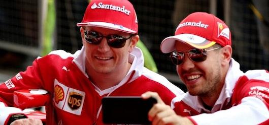 Vettel indica que Räikkönen es el mejor compañero que he tenido hasta ahora