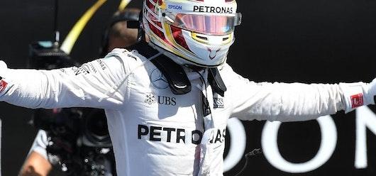 Hamilton da un golpe encima de la mesa desde los primeros ensayos del GP de Estados Unidos