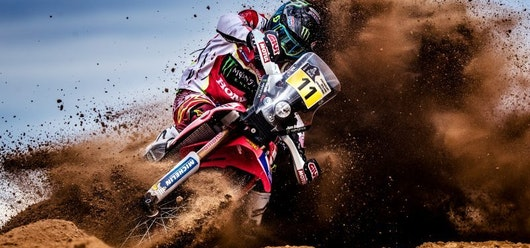 Cancelan etapa especial de motos del Dakar por mal tiempo