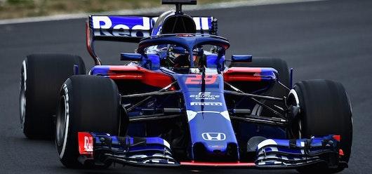 Toro Rosso desvela su primer monoplaza en colaboración con Honda