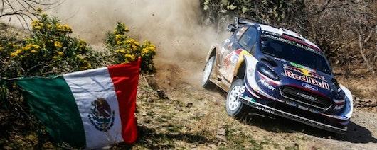 Ogier gana en México y asume liderato del Campeonato Mundial de Rally