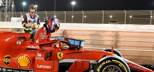Kimi Raikkonen fue el más rápido en la tercera serie de ensayos libres