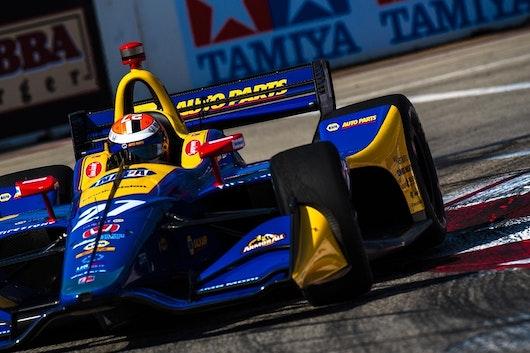 Estadounidense Rossi se impone en GP de Long Beach de la IndyCar